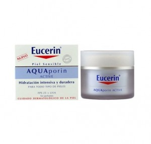 Aquaporin Active Crema FPS 25 + UVA, 50 ml. - Eucerin