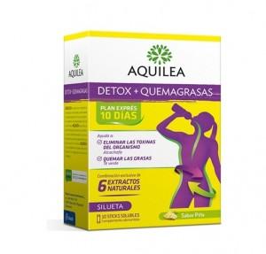 Aquilea Detox + Quemagrasas, 10 Sticks. - Aquilea Uriach