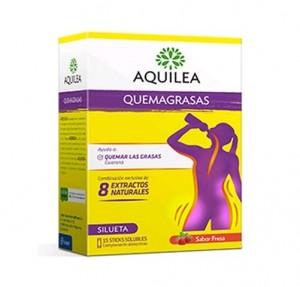 Aquilea Quemagrasas, 15 sticks. - Aquilea Uriach