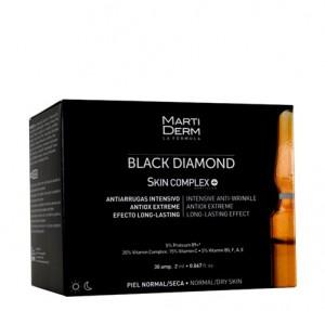 Black Diamond Skin Complex, 30 Ampollas - Martiderm