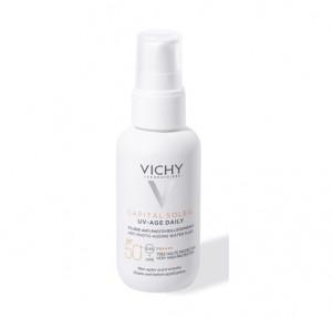 Capital Soleil Uv-Age Daily SPF 50, 40 ml. - Vichy