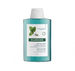 Champú Anti-polucion Detoxificante a la Menta Acuática, 200 ml. - Klorane