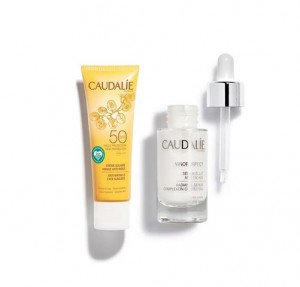 Cofre Vinoperfect Sérum Resplandor Anti-Manchas, 30 ml. + Crema Solar Facial Antiarrugas SPF 50, 25 ml. de Regalo!. - Caudalie