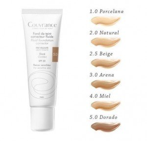 Couvrance Maquillaje Fluido Tono (05) Bronceado, 30 ml. - Avene