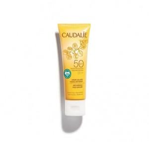 Crema Solar Facial Antiarrugas SPF50, 50 ml. - Caudalie