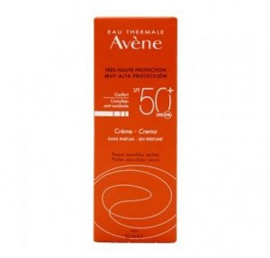 Crema Solar Sin Perfume SPF 50+, 50 ml. - Avene