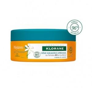 Crema Sublimadora Aftersun Cuerpo & Rostro al Monoi y Tamanu Bio, 200 ml. - Polysianes