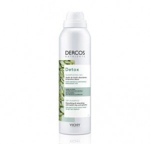 Dercos Detox Champú Seco Spray, 150 ml. - Vichy