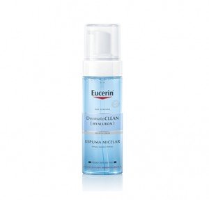 DermatoCLEAN [HYALURON] Espuma Micelar, 150 ml. - Eucerin