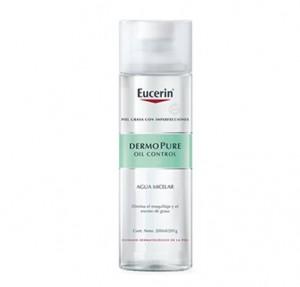 Dermopure Oil Control Agua Micelar, 200 ml. - Eucerin