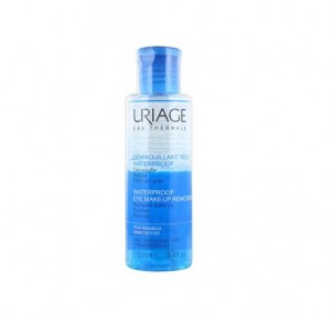 Desmaquillante Ojos Waterproof, 100 ml. - Uriage
