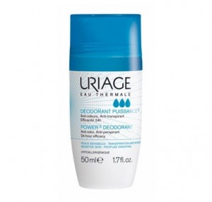 Desodorante Antitranspirante Roll On, 50 ml. - Uriage