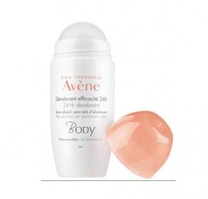 Desodorante Roll-On, Eficacia 24 h. 50 ml. - Avene
