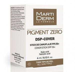 Pigment Zero DSP-Cover Stick SPF 50+, 4 ml. - Martiderm
