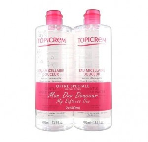 Duo Agua Micellar Topicrem, 2 x 400 ml. - Mayoly