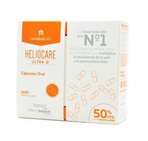 Duplo Heliocare Ultra-D, 2x30 Cápsulas. - Cantabria Labs