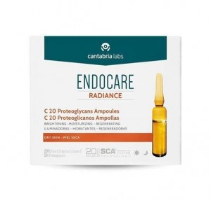 Endocare Radiance C 20 Proteoglicanos Ampollas, 30 x 2 ml. - Cantabria Labs