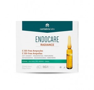 Endocare Radiance C Oil-free Ampollas, 30 x 2 ml. - Cantabria Labs