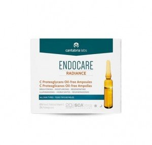 Endocare Radiance C Proteoglicanos Oil-free Ampollas, 10 x 2 ml. - Cantabria Labs