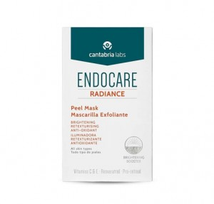 Endocare Radiance Peel Mask, 5 Sobres x 6 ml. - Cantabria Labs