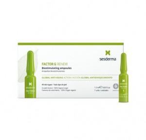 Factor G Renew Ampollas Bioestimulantes, 7 x 1,5 ml.  - Sesderma