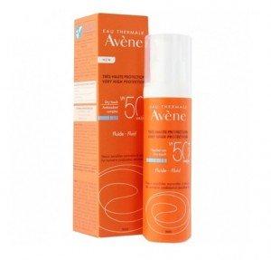 Fluido SPF 50+ Sin Perfume, 50 ml. - Avene
