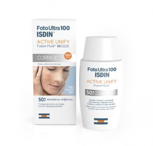 Foto Ultra 100 Active Unify Fusion Fluid Sin Color SPF 50+, 50 ml. - Isdin