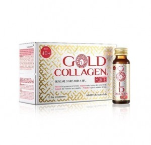 Gold Collagen Forte 10 frascos x 50 ml. - Areafar