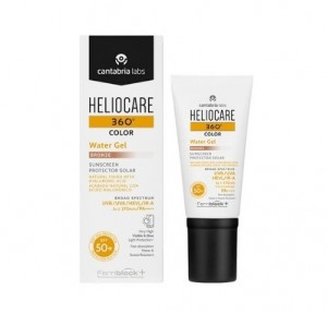 Heliocare 360 Water Gel SPF 50+, Color Bronze, 50 ml. - Cantabria Labs
