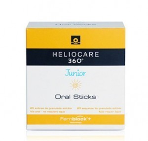 Heliocare 360º Junior Oral Sticks, 20 sobres - IFC