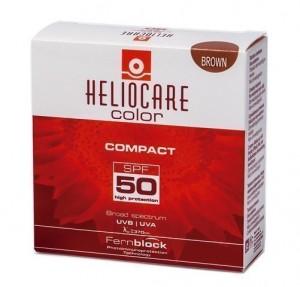 Heliocare Compacto Coloreado Brown SPF 50, 10 g. - IFC