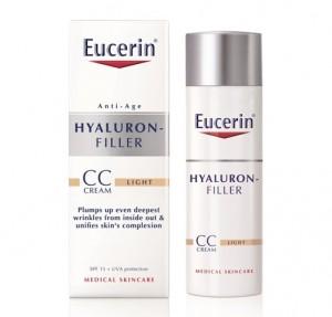 Hyaluron-Filler CC Cream Tono Claro, 50 ml. - Eucerin