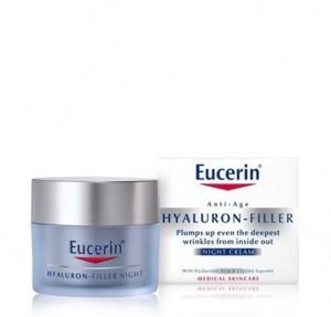 Hyaluron Filler Crema de Noche, 50 ml. - Eucerin