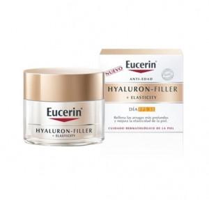 Hyaluron-Filller + Elasticity FPS 30 Crema de Día, 50 ml. - Eucerin
