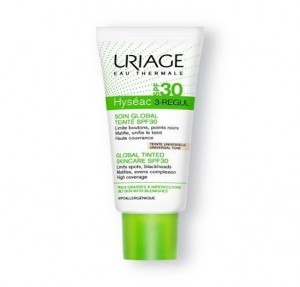 Hyséac 3 Regul con Color SPF 30+, 40 ml. - Uriage