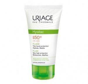 Hyséac Fluido Solar SPF50+, 50 ml. - Uriage