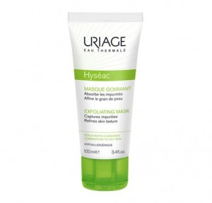 Hyséac Mascarilla Exfoliante, 100 ml. - Uriage