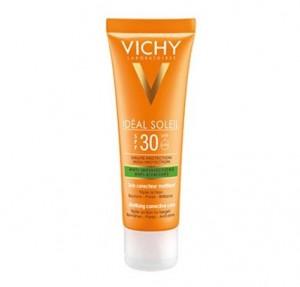 Idéal Soleil Cuidado Protector Anti-Imperfecciones 3 en 1 SPF 30, 50 ml. - Vichy