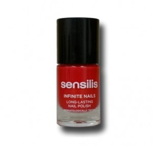 Infinite Nails Tono 03 Fire Red, 10 ml. - Sensilis