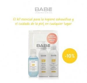 Kit Higienizante Hidrogel Dermaseptic, 100 ml. + Jabón Dermaseptic, 100 ml. + Fluido Hidra-Calm, 100 ml. - BABE