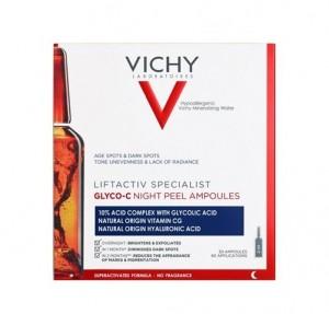 LIFTACTIV Glyco-C Ampollas Peeling de Noche, 30 x 2 ml. - Vichy
