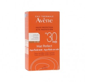 Mat Perfect con Color Aqua-Fluido SPF 30+. - Avene