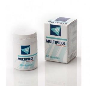 Multipilol Cabello y Uñas, 60 Cápsulas. - Dermilid Farma