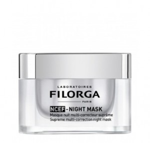 NCEF- Night Mask Mascarilla de Noche Multicorrección Suprema, 50 ml. - Filorga