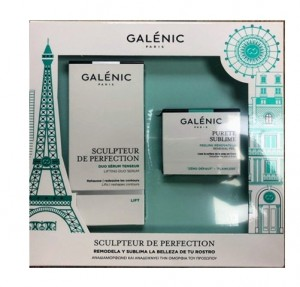 Pack Sculpteur de Perfection Duo Sérum Tensor, 30 ml. + Pureté Sublime Peeling Renovador 15 ml . - Galénic