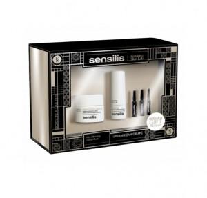 Pack Upgrade Crema de Dia, 50 ml. + Upgrade Contorno de Ojos, 15 ml. + Upgrade Ampollas, 3x1,5 ml. - Sensilis