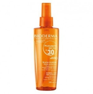 Photoderm Bronz Bruma Solar Invisible SPF30 UVA27, 200 ml. - Bioderma