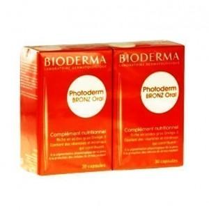Photoderm Bronz Oral, 2x30 cápsulas - Bioderma