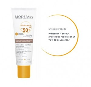 Photoderm M SPF50+ teinte dorée, 40 ml. - Bioderma