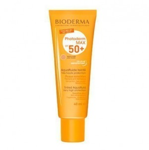 Photoderm MAX AquaFluide Dorado SPF 50+ UVA26, 40 ml. - Bioderma